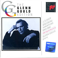 Обложка альбома «The Glenn Gould Edition. Bach, Goldberg Variations BWV 988» (J. S. Bach, Glenn Gould, 1982)