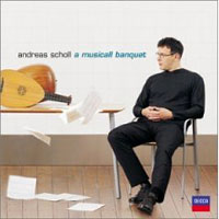 Обложка альбома «A Musicall Banquet» (Andreas Scholl, 2006)
