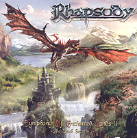 Обложка альбома «Symphony Of Enchanted Lands II. The Dark Secret» (Rhapsody, 2004)