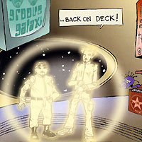 Обложка альбома «Back On Deck!» (Groove Galaxi, 2005)