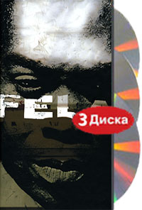 Обложка альбома «King Of Afrobeat. The Anthology» (Fela Kuti, 1999)