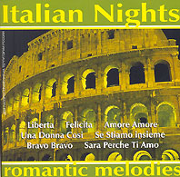 Обложка альбома «Romantic Melodies. Italian Nights» (2004)