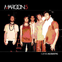 Обложка альбома «1.22.03 Acoustic» (Maroon 5, 2005)