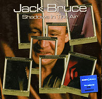 Обложка альбома «Shadows In The Air» (Jack Bruce, 2001)