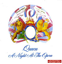 Обложка альбома «A Night At The Opera» (Queen, 1993)