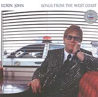 Обложка альбома «Songs From The West Coast» (Elton John, 2001)