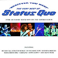 Обложка альбома «Whatever You Want» (Status Quo, 1997)
