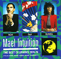 Обложка альбома «Mael Intuition. The Best Of Sparks 1974-76» (Sparks, 1990)