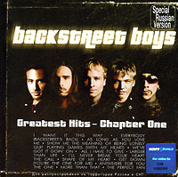 Обложка альбома «Greatest Hits — Chapter 1» (Backstreet Boys, 2003)