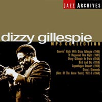Обложка альбома «Jazz Archives. Dizzy Gillespie. MP3 Collection» (Dizzy Gillespie, 2003)