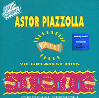 Обложка альбома «20 Greatest Hits» (Astor Piazzolla, 1996)
