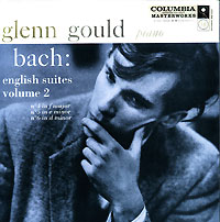Обложка альбома «Bach. English Suites. Vol. 2. Glenn Gould» (Glenn Gould, 2002)