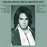 Обложка альбома «His 12 Greatest Hits» (Neil Diamond, 1991)