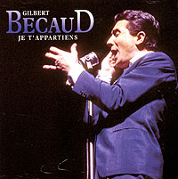 Обложка альбома «Je T'Appartiens» (Gilbert Becaud, 2006)