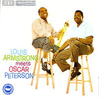 Обложка альбома «Louis Armstrong Meets Oscar Peterson» (Louis Armstrong, Oscar Peterson, 2005)