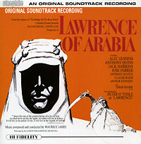 Обложка альбома «Lawrence Of Arabia. An Original Soundtrack Recording» (Maurice Jarre, 1999)