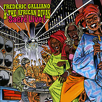 Обложка альбома «Frederic Calliano & The African Divas. Sacre Live!» (Frederic Calliano, The African Divas, 2004)