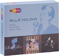 Обложка альбома «Blue Billie. Lady Day Swings. A Musical Romance» (Billie Holiday, 2004)