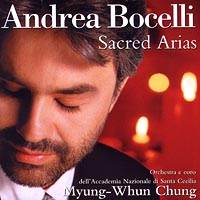 Обложка альбома «Sacred Arias» (Andrea Bocelli, 2006)