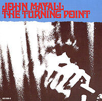 Обложка альбома «The Turning Point» (John Mayall, 1987)