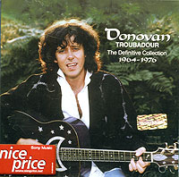Обложка альбома «Troubadour. The Definitive Collection 1964-1976» (Donovan, 1992)