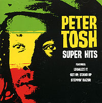 Обложка альбома «Super Hits» (Peter Tosh, 2001)