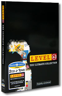 Обложка альбома «The Ultimate Collection» (Level 42, 2004)
