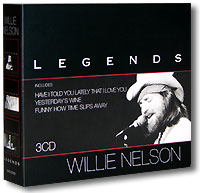 Обложка альбома «Legends» (Willie Nelson, 2004)