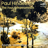 Обложка альбома «The Four Temperaments» (Paul Hindemith, 2004)