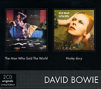 Обложка альбома «Man Who Sold the World. Hunky Dory» (David Bowie, 1999)