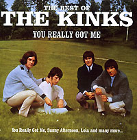 Обложка альбома «The Best Of. You Really Got Me» (The Kinks, 1999)
