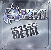 Обложка альбома «A Collection Of Metal» (Saxon, 1996)