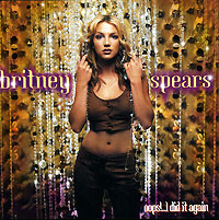 Обложка альбома «Oops!… I Did It Again» (Britney Spears, 2000)