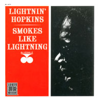 Обложка альбома «Smokes Like Lightning» (Lightnin» Hopkins, 1992)