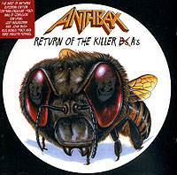 Обложка альбома «Return Of The Killer A's» (Anthrax, 1999)
