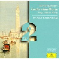 Обложка альбома «Mendelssohn. Songs Without Words. Daniel Barenboim» (Daniel Barenboim, 2006)